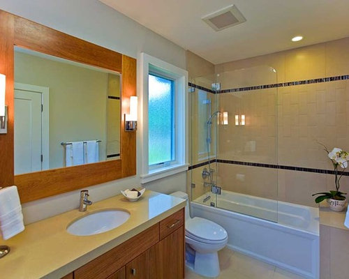 Swinging Shower Door Home Design Ideas, Pictures, Remodel and Decor