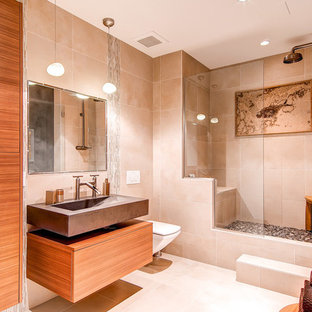 Bathroom - modern bathroom idea in Salt Lake City