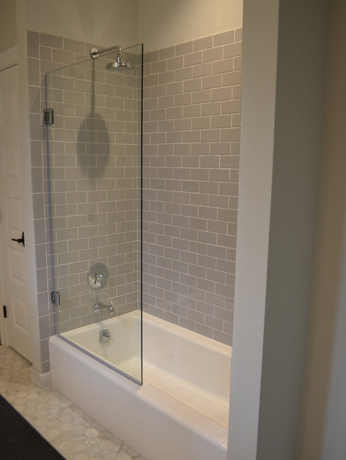 Low profile tub houzz for Low height bathtub