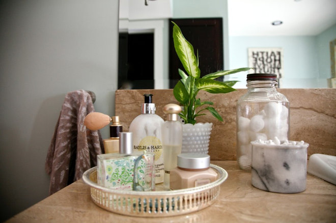Traditional Bathroom by Little Simplicity: Decorator & Organizer