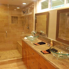 Traditional Bathroom by Skyline Construction And Remodeling
