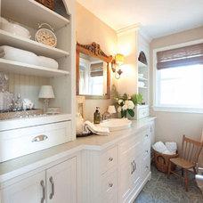 Traditional Bathroom by Sonya Kinkade Design