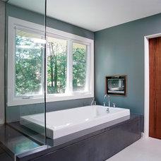 Contemporary Bathroom by Southam Design Inc