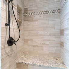 Transitional Bathroom by Lane Homes & Remodeling Inc.