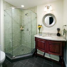 Asian Bathroom by Kleppinger Design Group, Inc.