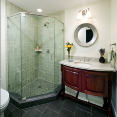 asian bathroom by Kleppinger Design Group, Inc.