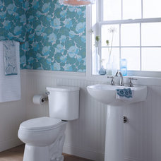 Eclectic Bathroom by Sterling Plumbing