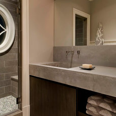 Contemporary Bathroom by Steven Mueller Architects, LLC