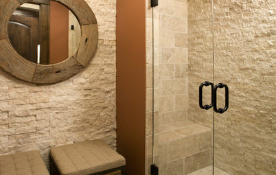 Bathroom Tile: Loving the Look of Ledgestone
