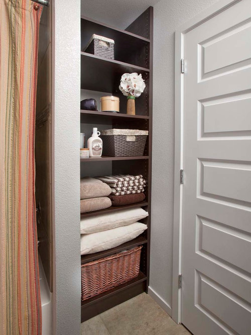 Open Shelving Bathroom Ideas | Houzz