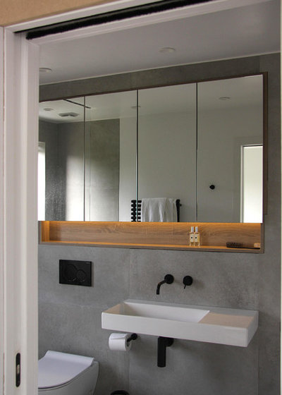 Contemporary Bathroom by Smart Fit Wardrobes
