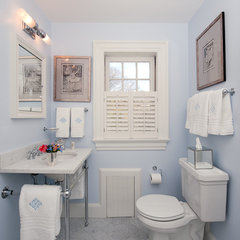 traditional bathroom by Su Casa Designs