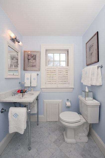 Traditional Bathroom by Su Casa Designs