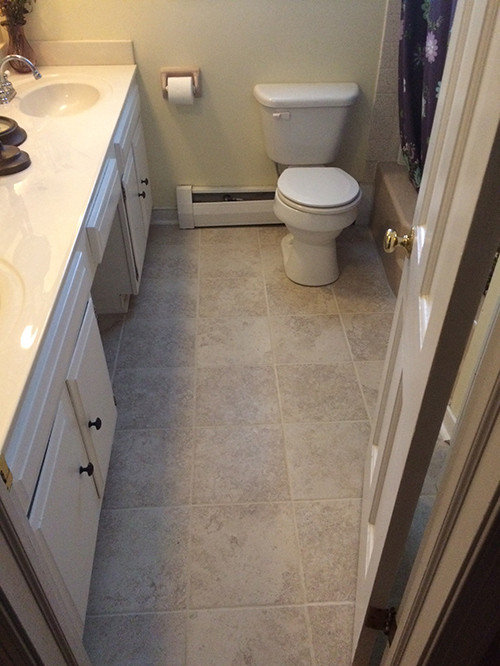 Bathroom Sub Floor Replacement And Tile