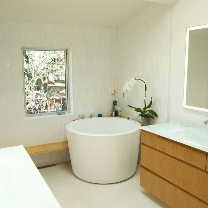 Palo Alto Bathroom designed for Greywater use