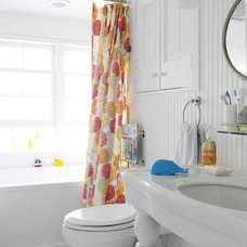beach style bathroom by Tara Seawright