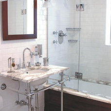 Traditional Bathroom by Tara Seawright