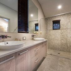 Beach Style Bathroom by Jodie Cooper Design