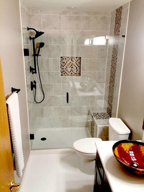 salle de bain contemporaine petit budget photos et id es d co de salles de bain. Black Bedroom Furniture Sets. Home Design Ideas