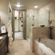 Traditional Bathroom by Thorntree Slate