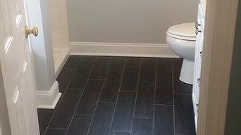 Bathroom Tile and Paint - Ceramic