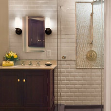 Traditional Bathroom by Glass Tile Home