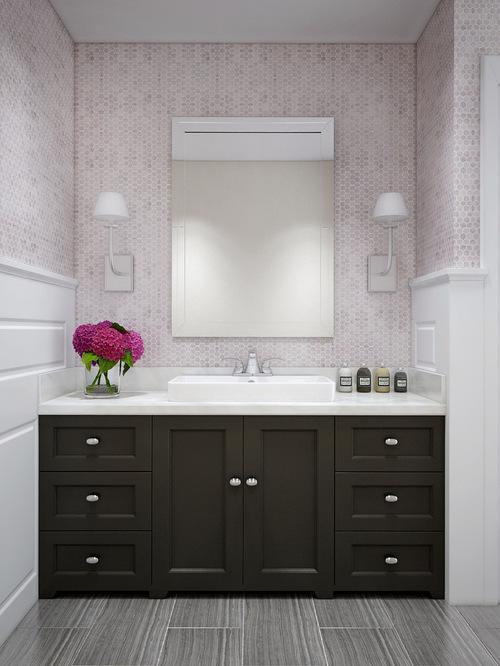 saveemail - Backsplash In Bathroom