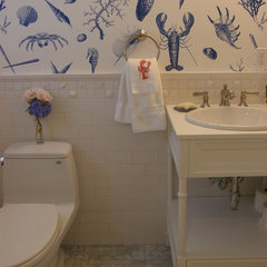 traditional bathroom by Old Port Specialty Tile Co