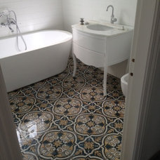 Mediterranean Bathroom by Kalafrana Ceramics - Tiles Sydney