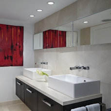 Contemporary Bathroom by Toby Zack Designs