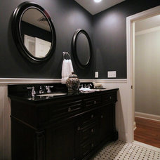 Traditional Bathroom by Tonia J. Cleveland Interiors