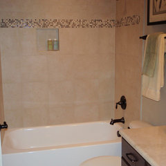 traditional bathroom by Triangle Tile & Stone of NC