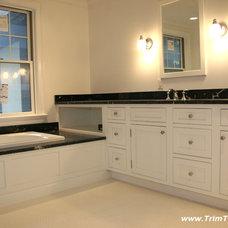 Traditional Bathroom by Trim Team NJ