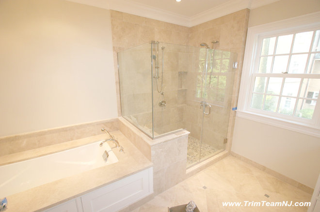 Contemporary Bathroom by Trim Team NJ