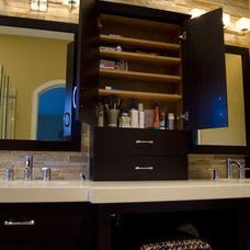 Contemporary Bathroom by Troyer Kitchen and Bath