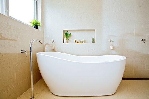 Contemporary Bathroom by Inspired Spaces