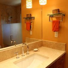 Modern Bathroom by HomeLife Designs