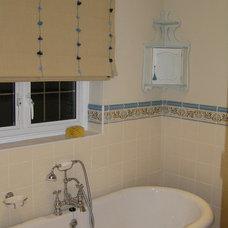 Traditional Bathroom by Celia James