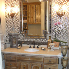 Traditional Bathroom by Valorie Berry,A.S.I.D,C.I.D.