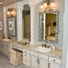 Traditional Bathroom by American Marble & Granite