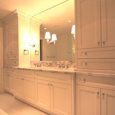 Contemporary Bathroom by Arts Custom Woodcrafting Inc.