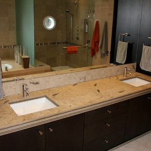 Example of a trendy bathroom design in Salt Lake City