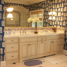 Traditional Bathroom by KITCHEN CENTER THE