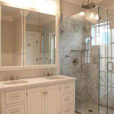 Traditional Bathroom by Studio Dearborn