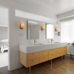 modern bathroom by Hart Associates Architects, Inc.