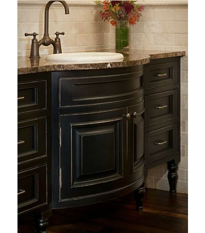 Traditional Bathroom by Greenfield Cabinetry (IL•WI•MN) American made