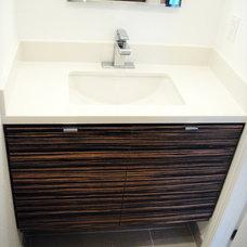 Modern Bathroom by Jill Seidner Interior Design