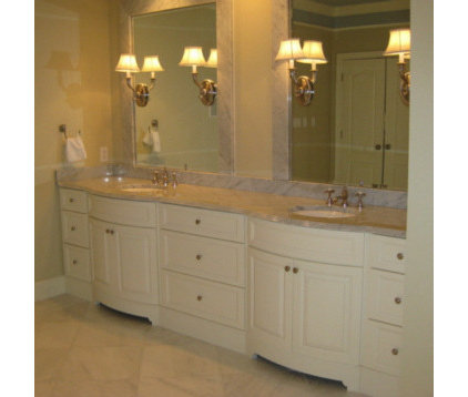 Traditional Bathroom by Kent Cabinetry and Millwork Inc