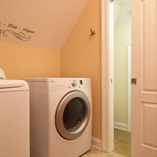 Contemporary Laundry Room by Criner Remodeling