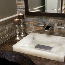 Eclectic Bathroom by Venture One Design, Inc.